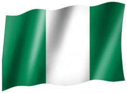 Fahne Nigeria
