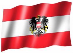 Fahne Österreich Wappen
