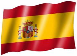 Fahne Spanien Wappen