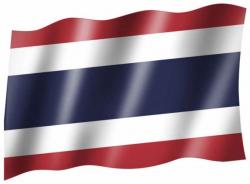 Fahne Thailand