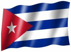 Fahne Kuba
