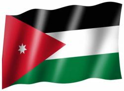 Fahne Jordanien