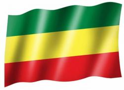 Fahne Äthiopien