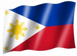 Fahne Philippinen