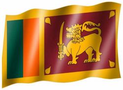 Fahne Sri Lanka