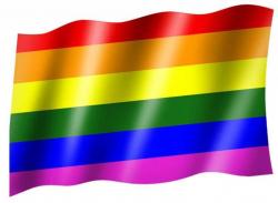 Fahne Regenbogen