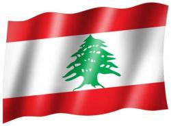 Fahne Libanon