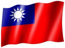 Fahne Taiwan
