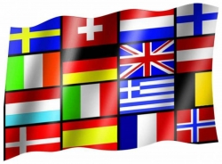 Fahne 16 Europastaaten
