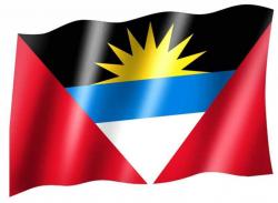 Fahne Anitgua und Barbuda