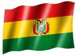 Fahne Bolivien