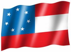 Fahne Alte Südstaaten