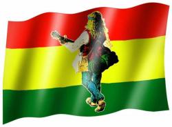 Fahne Hippie