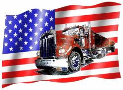 Flag USA truck | 173