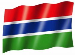 Fahne Gambia