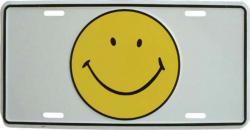 Tin Sign Smiley - 30cm x 15cm
