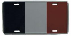 Blechschild Frankreich - 30cm x 15cm