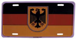 Blechschild Deutschland - 30cm x 15cm