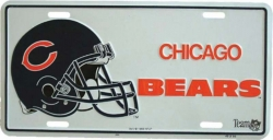 Blechschild Chicago bears - 30cm x 15cm