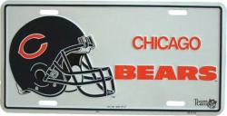 Tin Sign Chicago bears - 30cm x 15cm