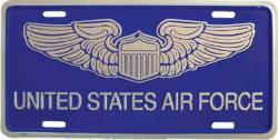 Blechschild US Airforce - 30cm x 15cm