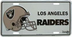 Tin Sign L.A. Raiders - 30cm x 15cm