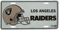 Blechschild L.A. Raiders - 30cm x 15cm