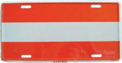 Blechschild Österreich - 30cm x 15cm