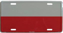 Blechschild Polen - 30cm x 15cm
