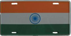 Blechschild Indien - 30cm x 15cm