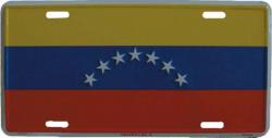 Blechschild Venezuela - 30cm x 15cm