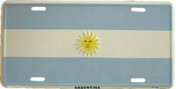 Blechschild Argentinia - 30cm x 15cm