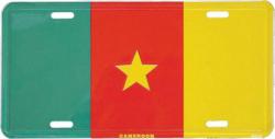 Blechschild Camerun - 30cm x 15cm