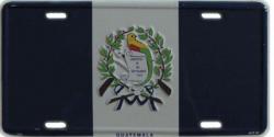 Blechschild Guatemala - 30cm x 15cm
