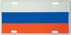Blechschild Russland - 30cm x 15cm