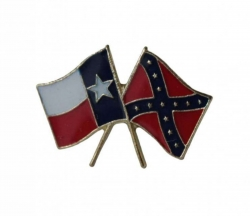 Texas Südstaaten Anstecker