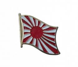 Japan Kriegsflagge Pin