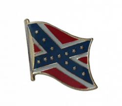 Südstaaten Flagge Anstecker