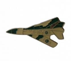 Anstecker Kampfflugzeug