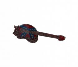 Südstaaten Gitarre Anstecker