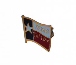 Anstecker Pin Texas Till I Die