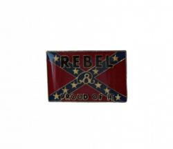 Südstaaten Rebel Proud Of It Pin