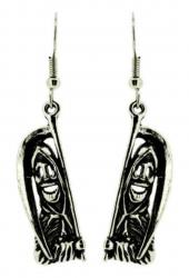 Grim Reaper Drop Earrings