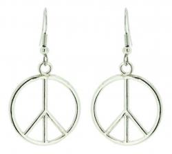 Ohrhänger Peace Zeichen