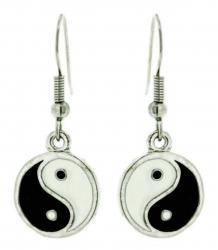 Yin Yang Ohrhänger
