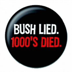 Ansteckbutton Bush Lied | 3493