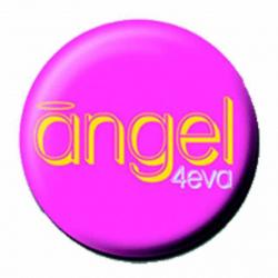 Ansteckbutton Angel 4Eva   3678