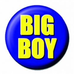 Ansteckbutton Big Boy | 4286