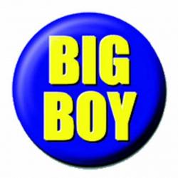 Ansteckbutton Big Boy   4286