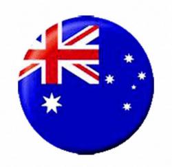 Ansteckbutton Australien | 4603